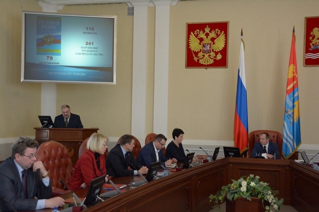 В правительстве ивановской области прошло заседание комиссии по безопасности дорожного движения